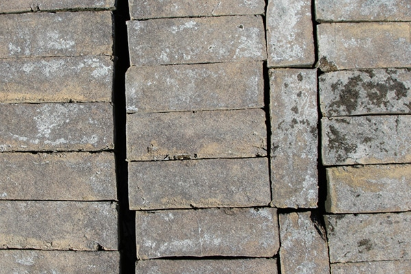 Gray Patina Adobe Brick