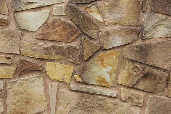 Tuscan Sandstone Rubble Rock