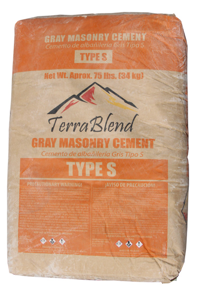 Gray Masonry Cement Type S