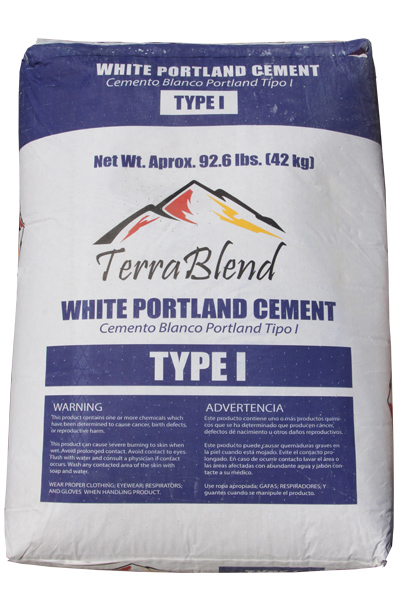 White Portland Cement Type I